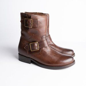 FINAL DROP: NEW Frye Vicky Engineer Leather Boots